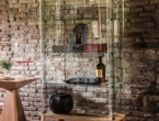 Chantal, vetrina in cristallo, Cattelan Italia