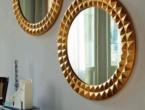 Egypt, specchio in oro, Cattelan Italia