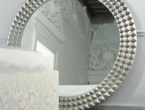 Egypt, specchio in argento, Cattelan Italia