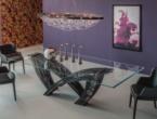 Hystrix, Cattelan tavoli in cristallo