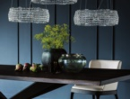 Kidal, lampadario con cristalli, Cattelan