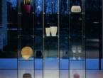 Mini Decor, Vetrina in cristallo trasparente, Cattelan